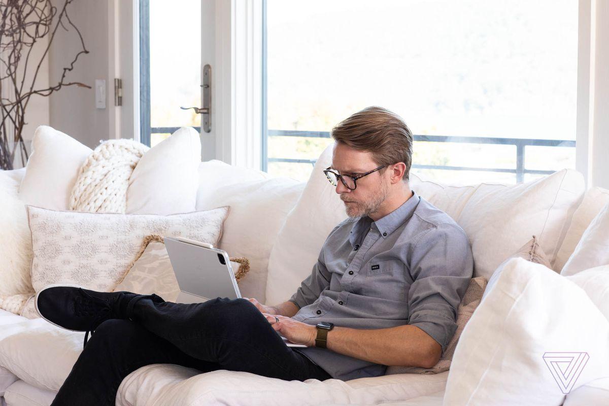 Typing on the iPad Pro