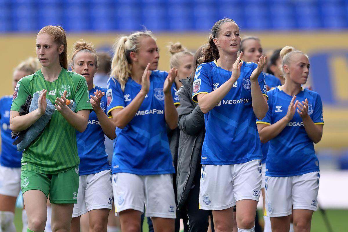 Everton Women v Manchester City Women - Barclays FA Women's Super League