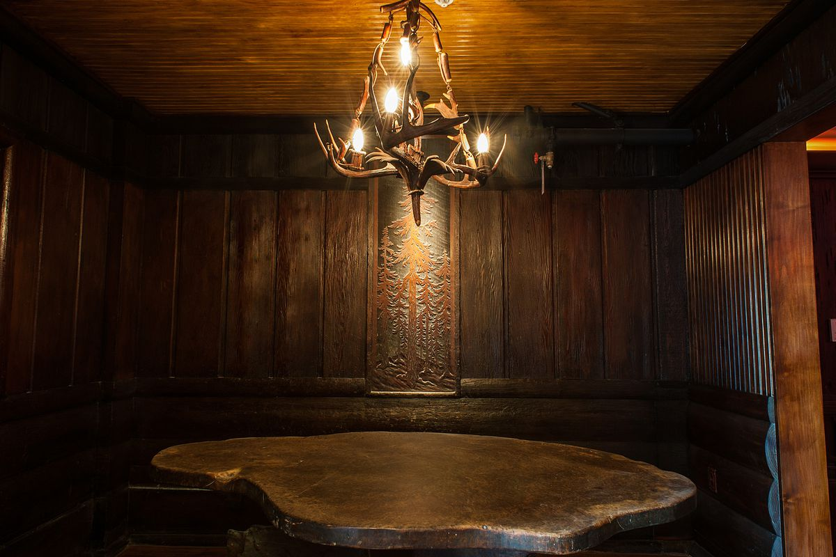 Inside Clifton's Cafeteria, Downtown
