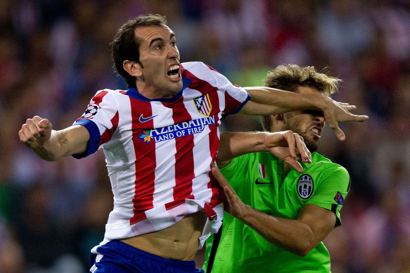 Reports: Juventus to try and lure Diego Godin away from Atletico Madrid