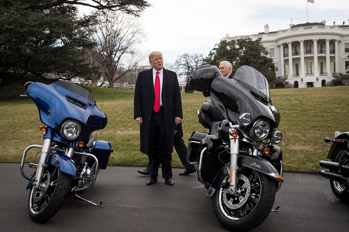 Harley Davidson S Moving Production Overseas Trump Tweets Workers