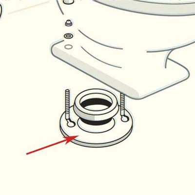Closet Flange Of Toilet
