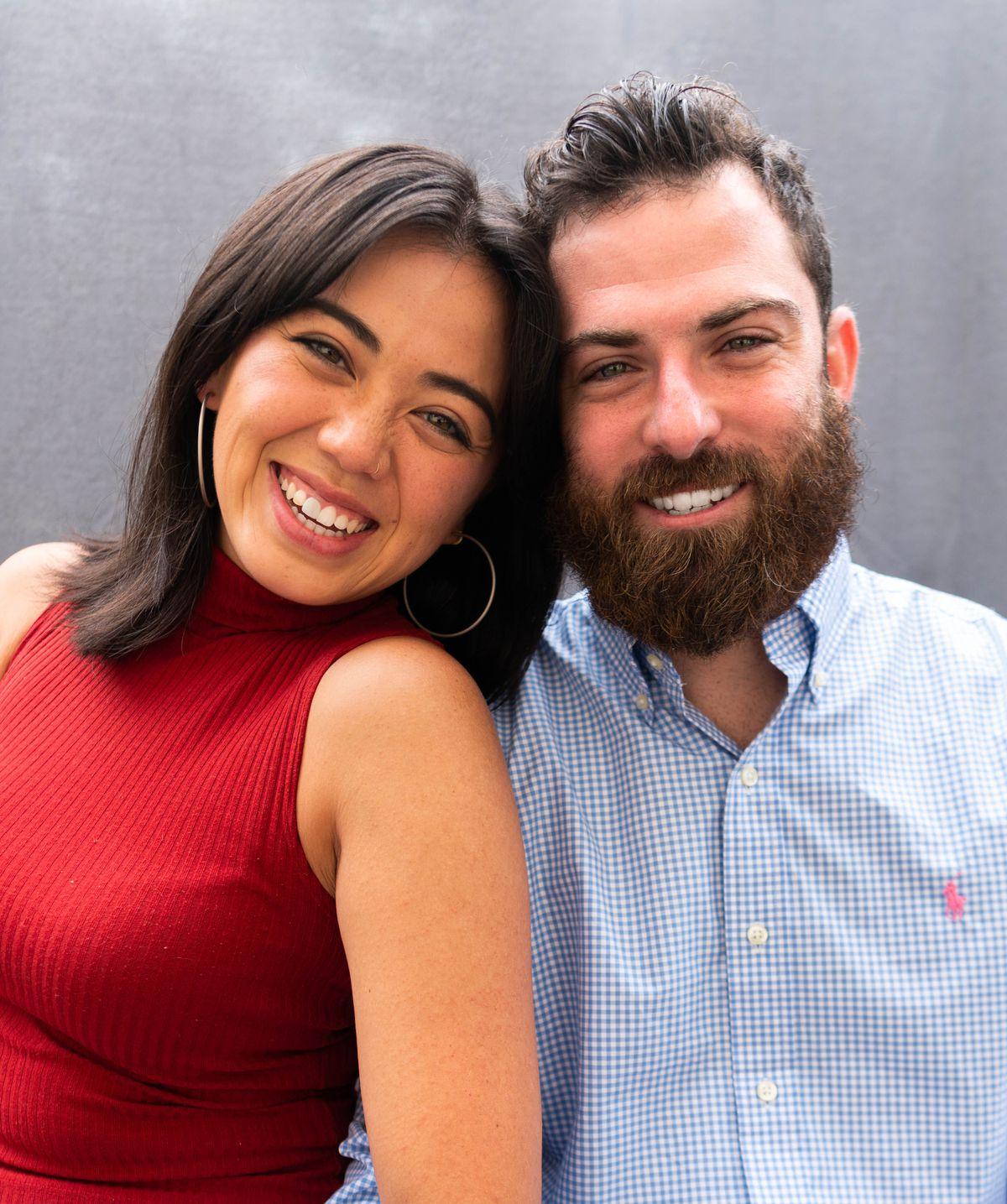 Kelsie Lam and Allan Katzef