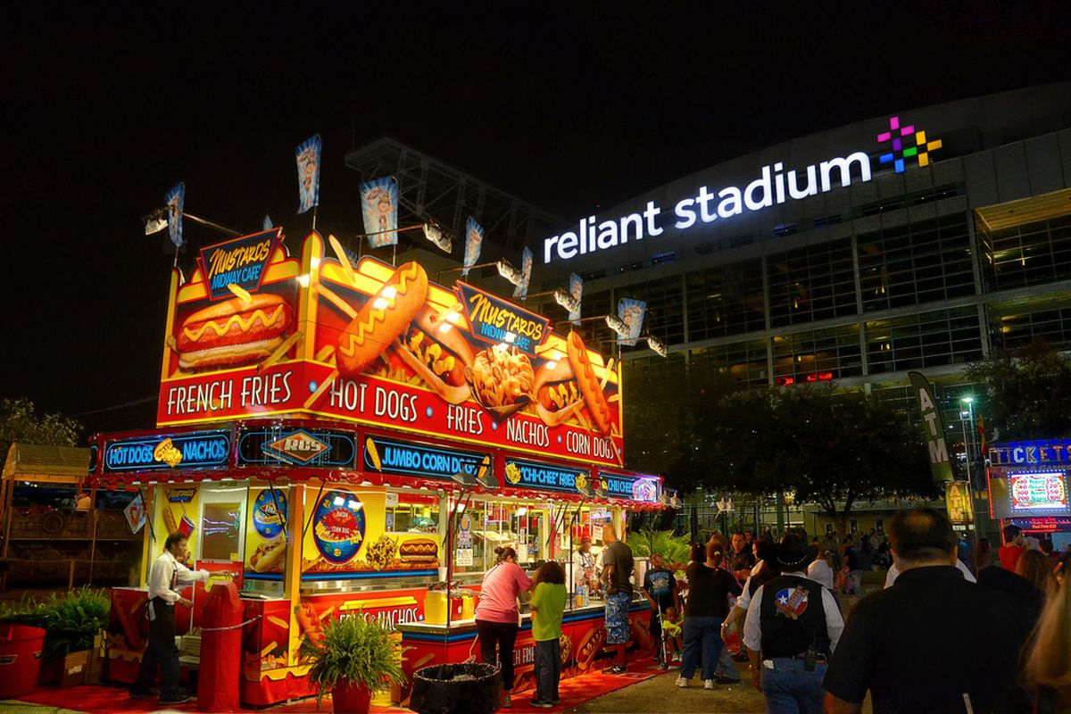 Carnival at Houston Livestock and Rodeo