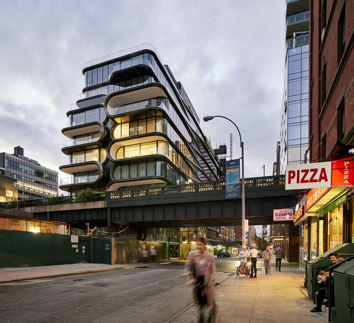 Get A Peek Inside Zaha Hadid's Futuristic High Line Condo