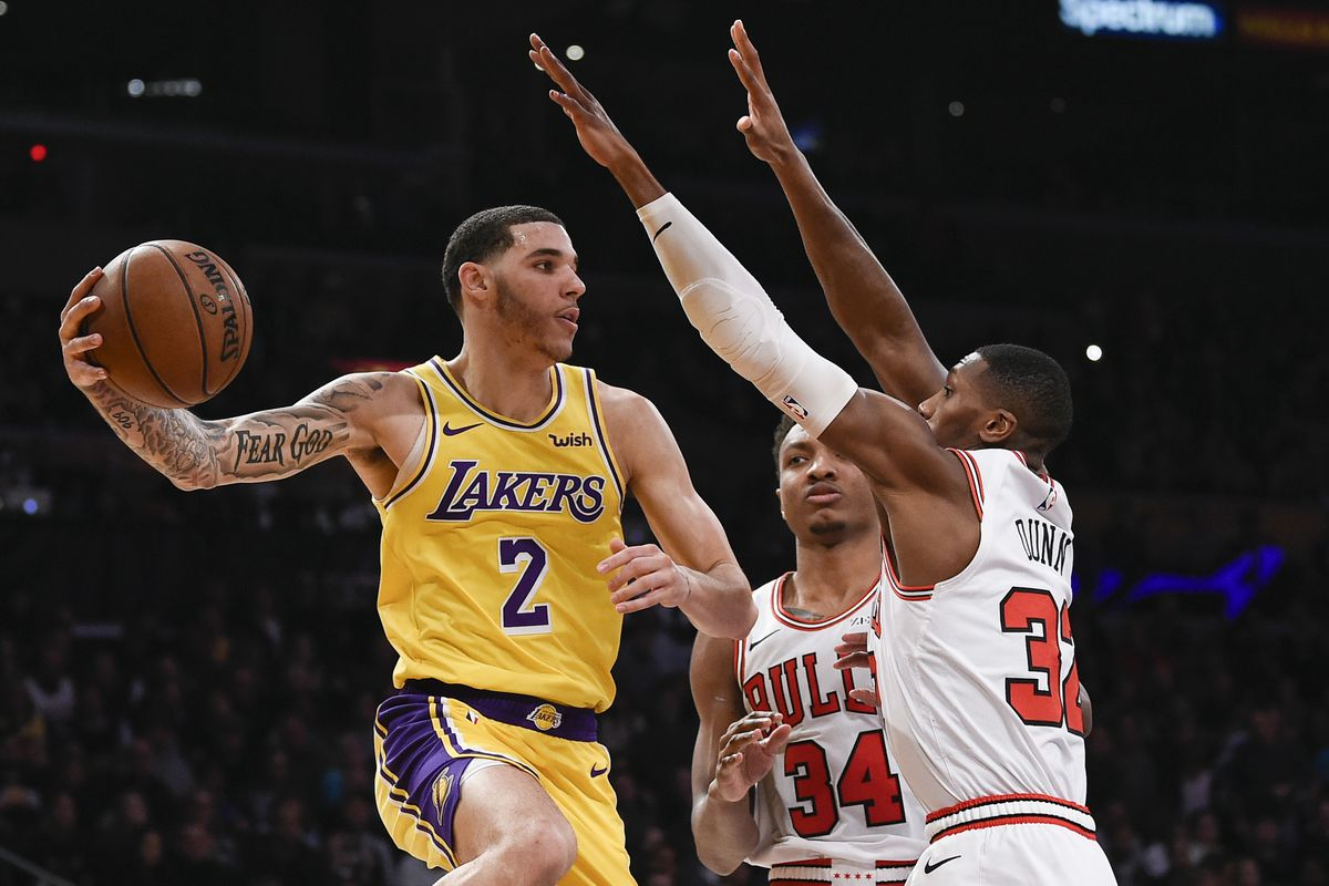 Bulls Vs Lakers Final Score Chicago Drops 8th Straight In Ugly 107 100 Loss That Got Silly At The End Blog A Bull