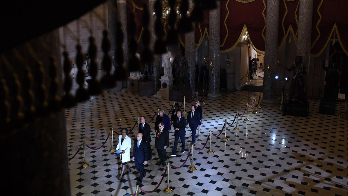 Senate Impeachment Trial Adam Schiff And Managers Bring
