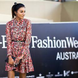 Printed dresses were a hit in Sydney this week.