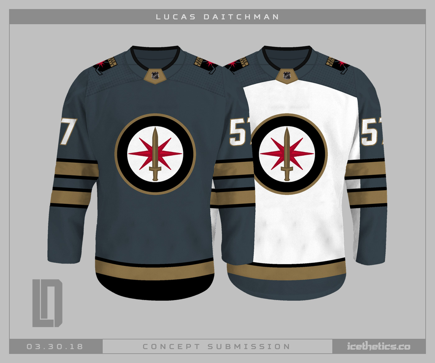 What could the Golden Knights  eventual alternate sweaters look like  -  Knights On Ice a9e756fce0b