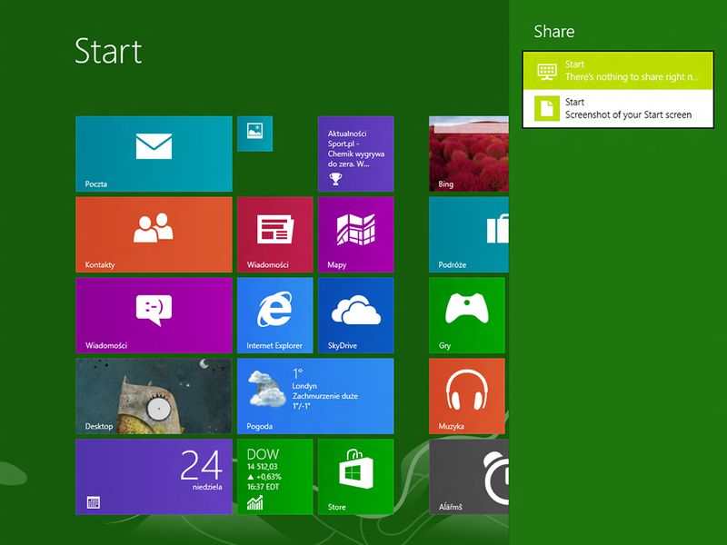 windows 8 how to bring app into view