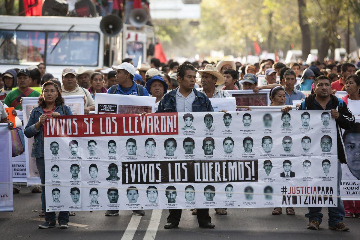 Mexico protest march