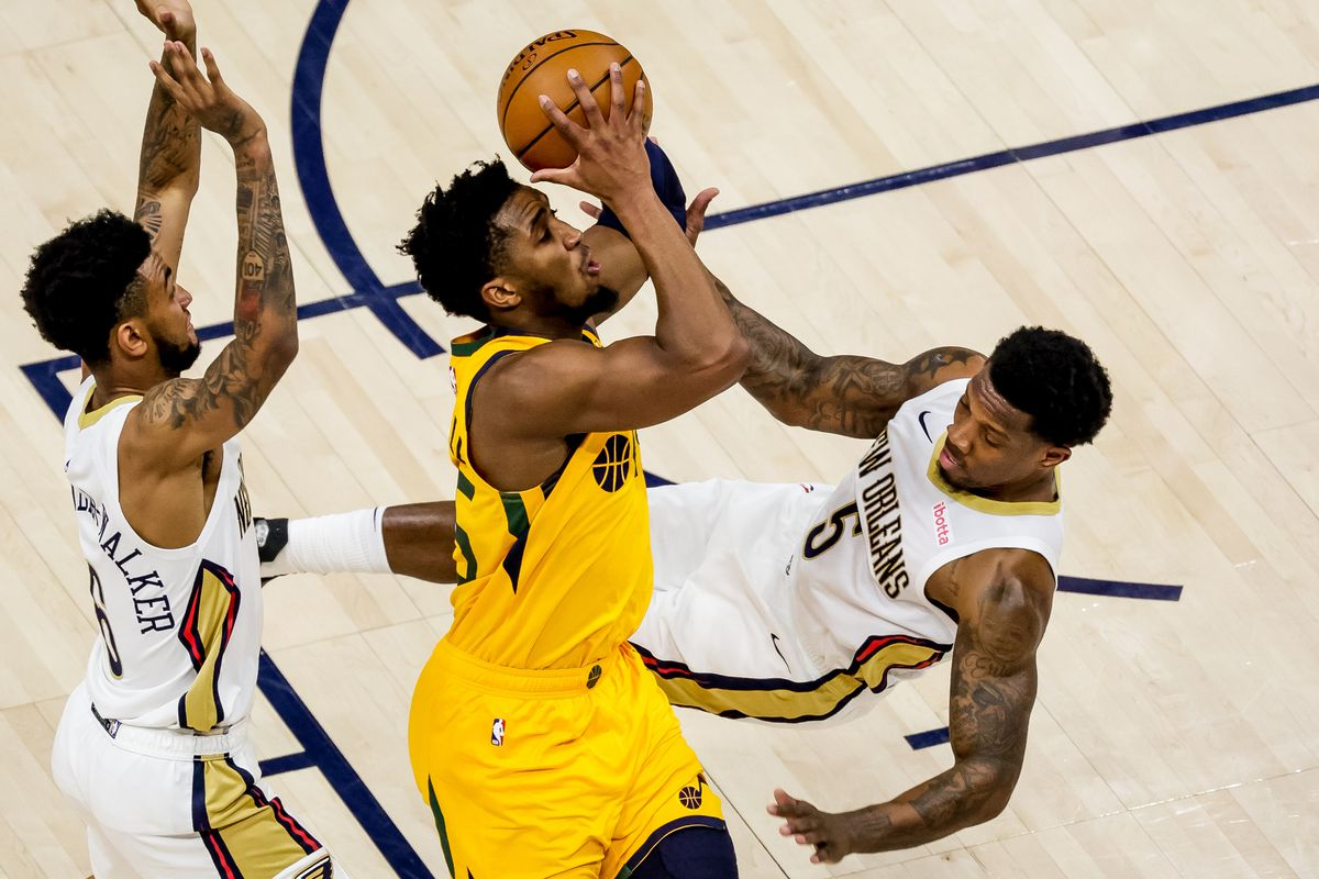 Instant analysis: Jazz shoot the lights out against New Orleans Pelicans  for sixth straight win - Deseret News