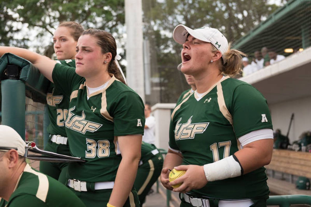 USF Softball is just one win away from winning the AAC Tournament.