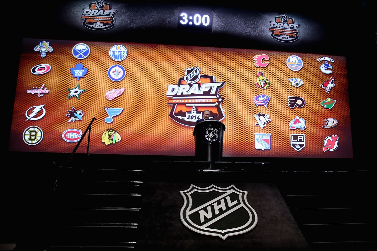 Commish Gary Bettman was heartily booed before the draft started. What else is new?