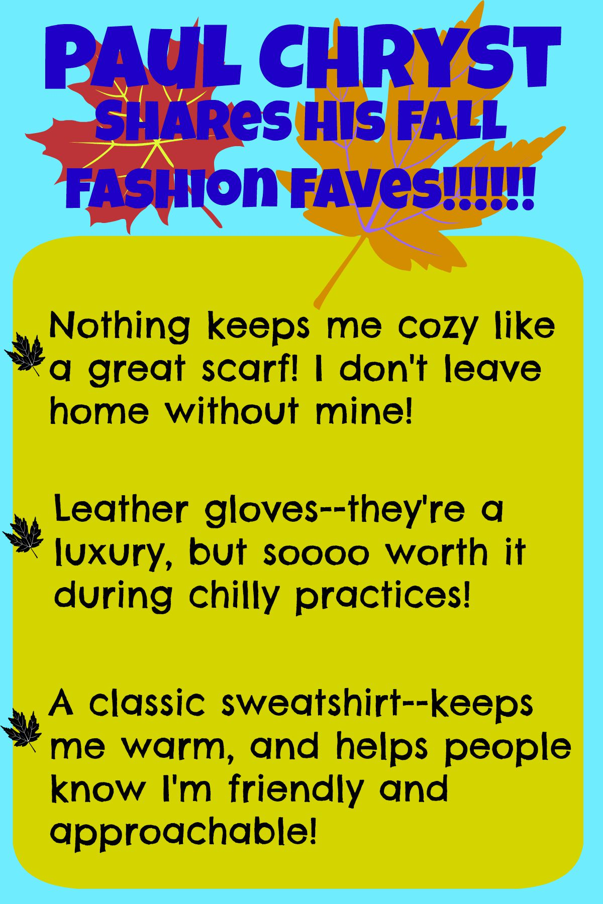 Fall Fashion Faves by Chryst