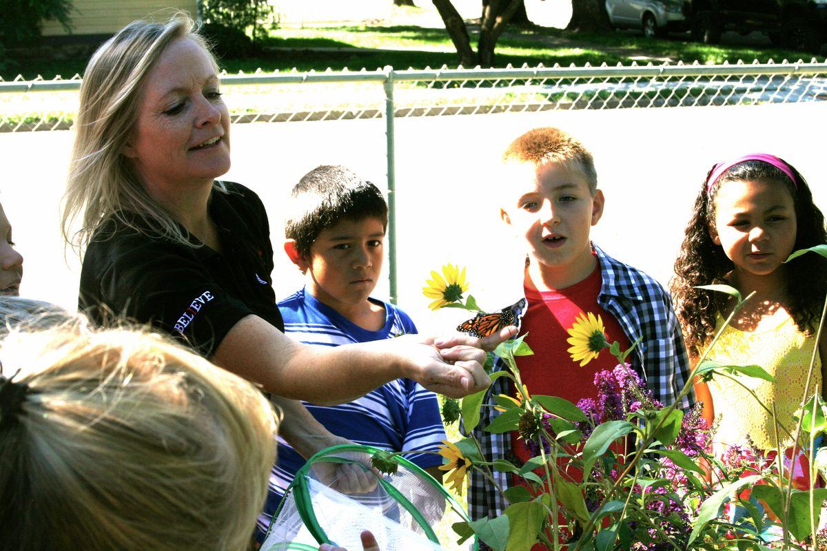 Jodi Simpson at Paonia Elementary School