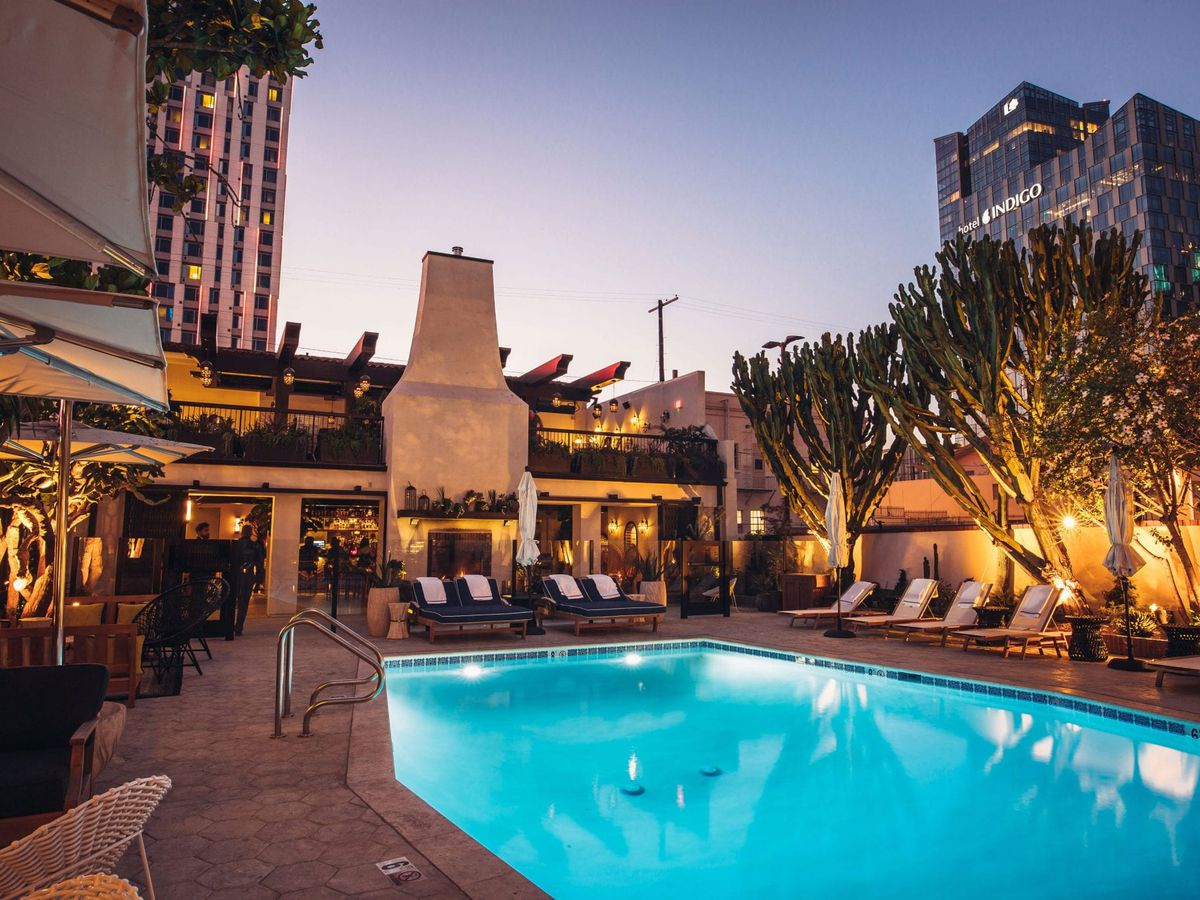Pool at Hotel Figueroa in Downtown