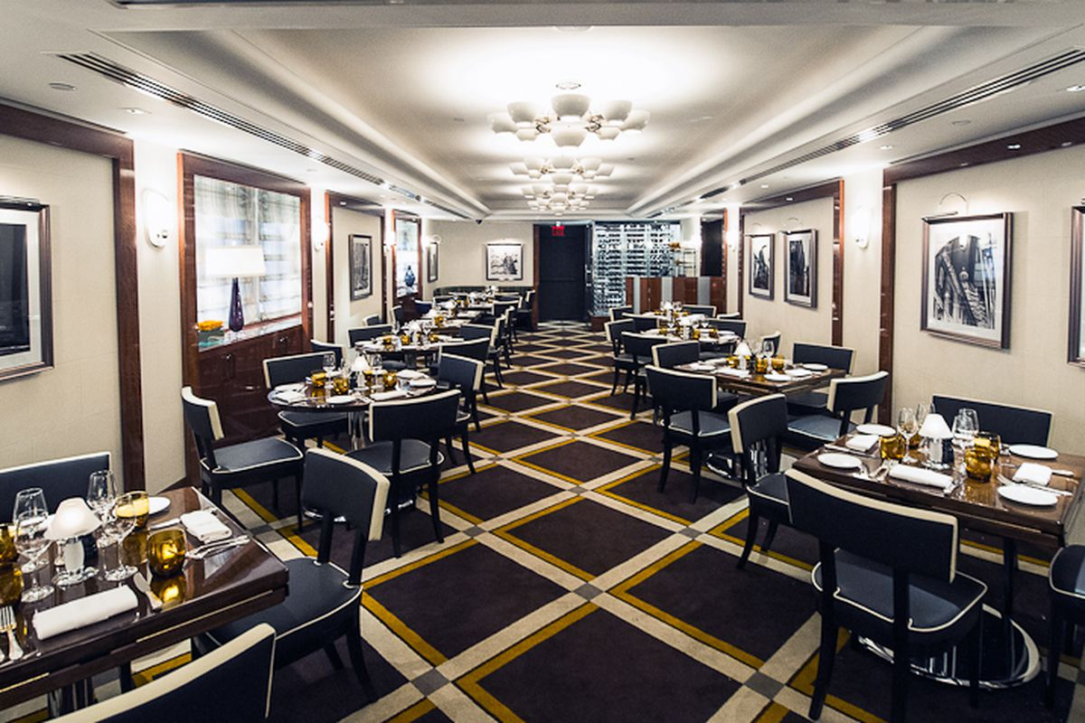 [The dining room at Sirio]