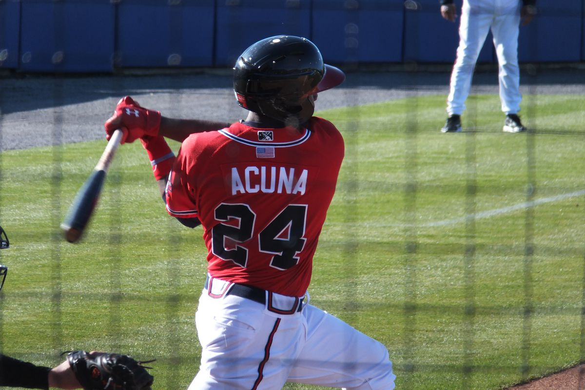 Ronald Acuna being awesome