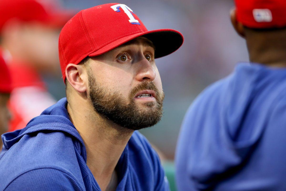 MLB: AUG 19 Angels at Rangers