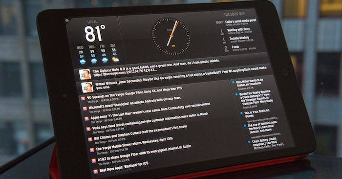 Panic debuts Status Board app, a widget hub for iPad - The Verge