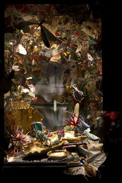 Bergdorf's Holiday Windows Star All Creatures Great and ...
