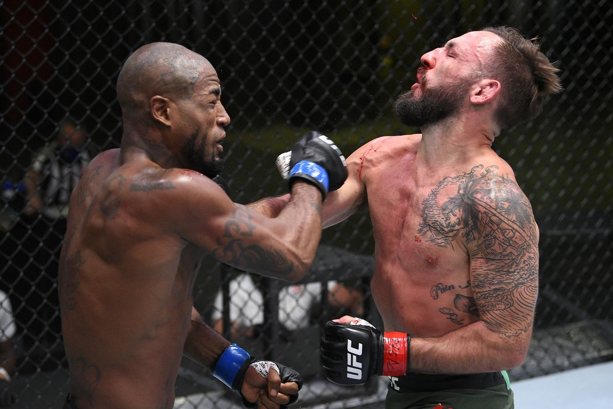 UFC Vegas 5 results: Bobby Green showcases diverse striking attack ...
