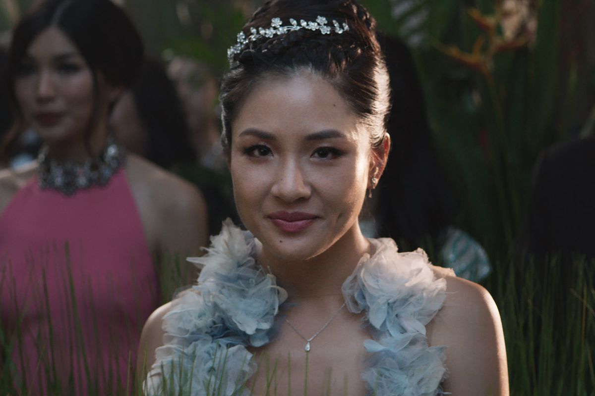 Constance Wu as Rachel Chu in Crazy Rich Asians. Sanja Bucko/Warner Bros.