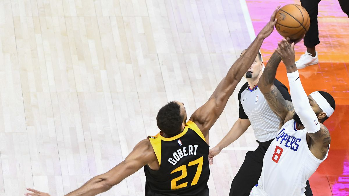 Los Angeles Clippers v Utah Jazz - Game One