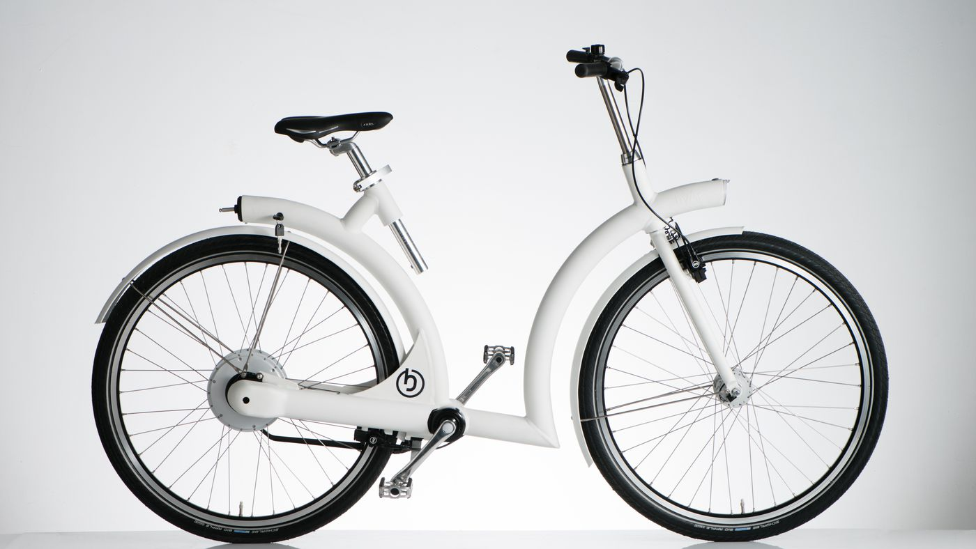 Byar Volta is a shaft-driven e-bike that might never need