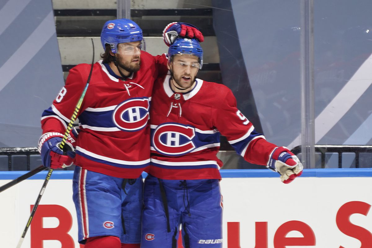 Offensive Creativity Led The Canadiens Comeback Eyes On The Prize
