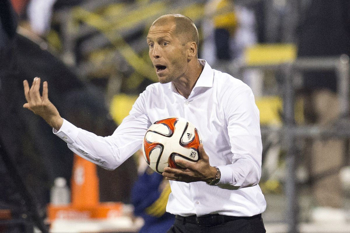 It's easy to see why Gregg Berhalter is upset.