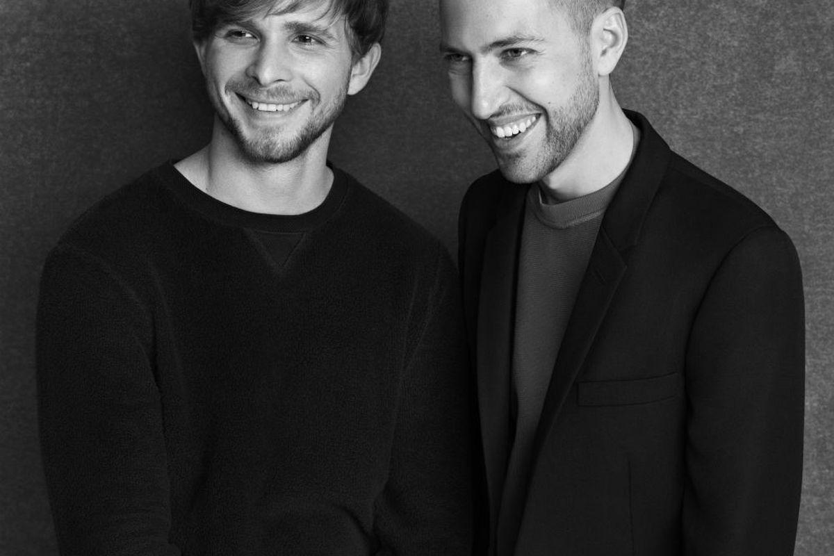 The designers of Peter Pilotto. Image via Target.