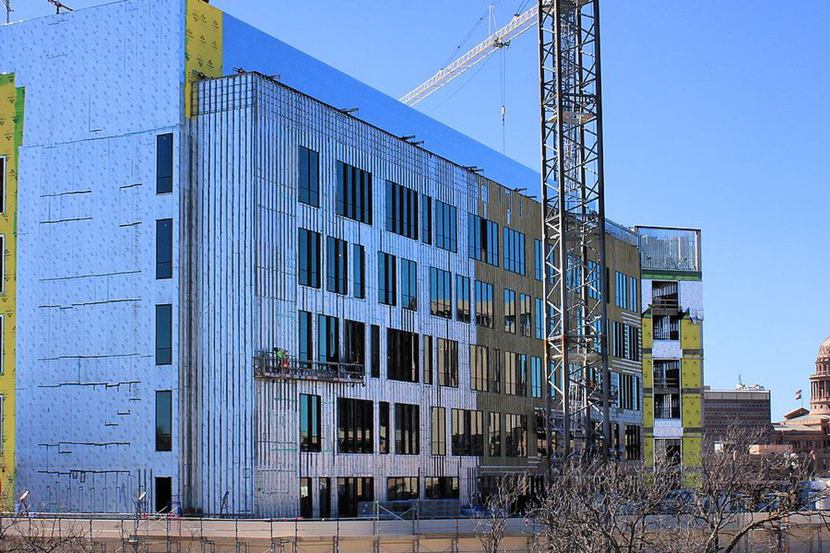 Dell Medical School Research Building under construction