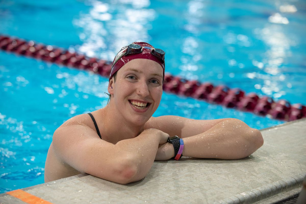 Swimmer Natalie Fahey in 2019.