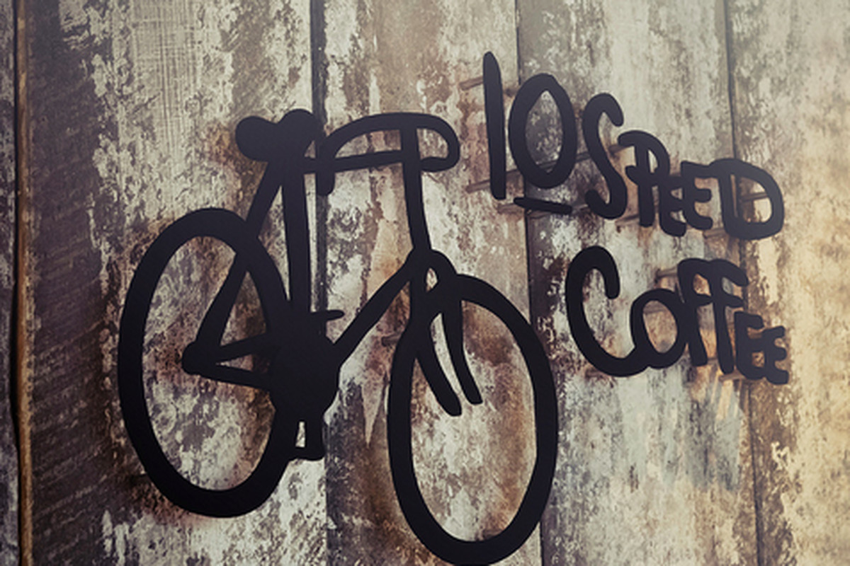 10 Speed Coffee at Pedalers Fork, Calabasas.