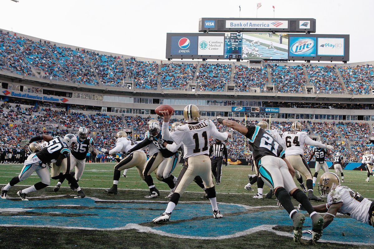 9a449192 New Orleans Saints at Carolina Panthers: Series history and ...