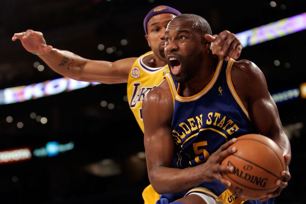 Golden Moment  Baron Davis  game-winner to beat the Lakers - Golden ... 3086fc6c3