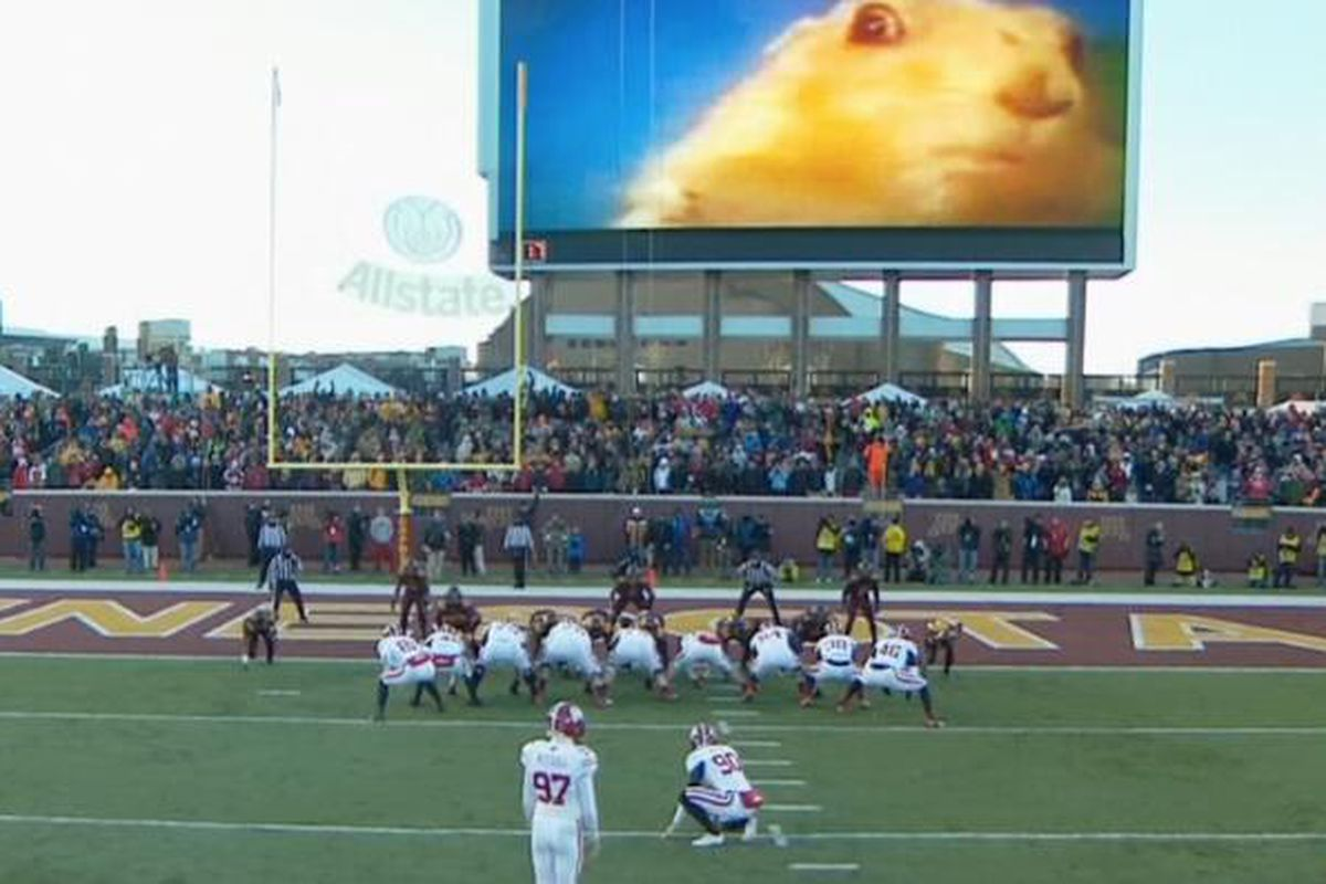 Minnesota uses 'Dramatic Chipmunk' to distract opposing