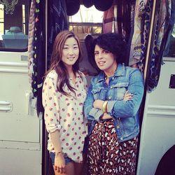 Looksy's Mimi Chung and Diana Maciel.