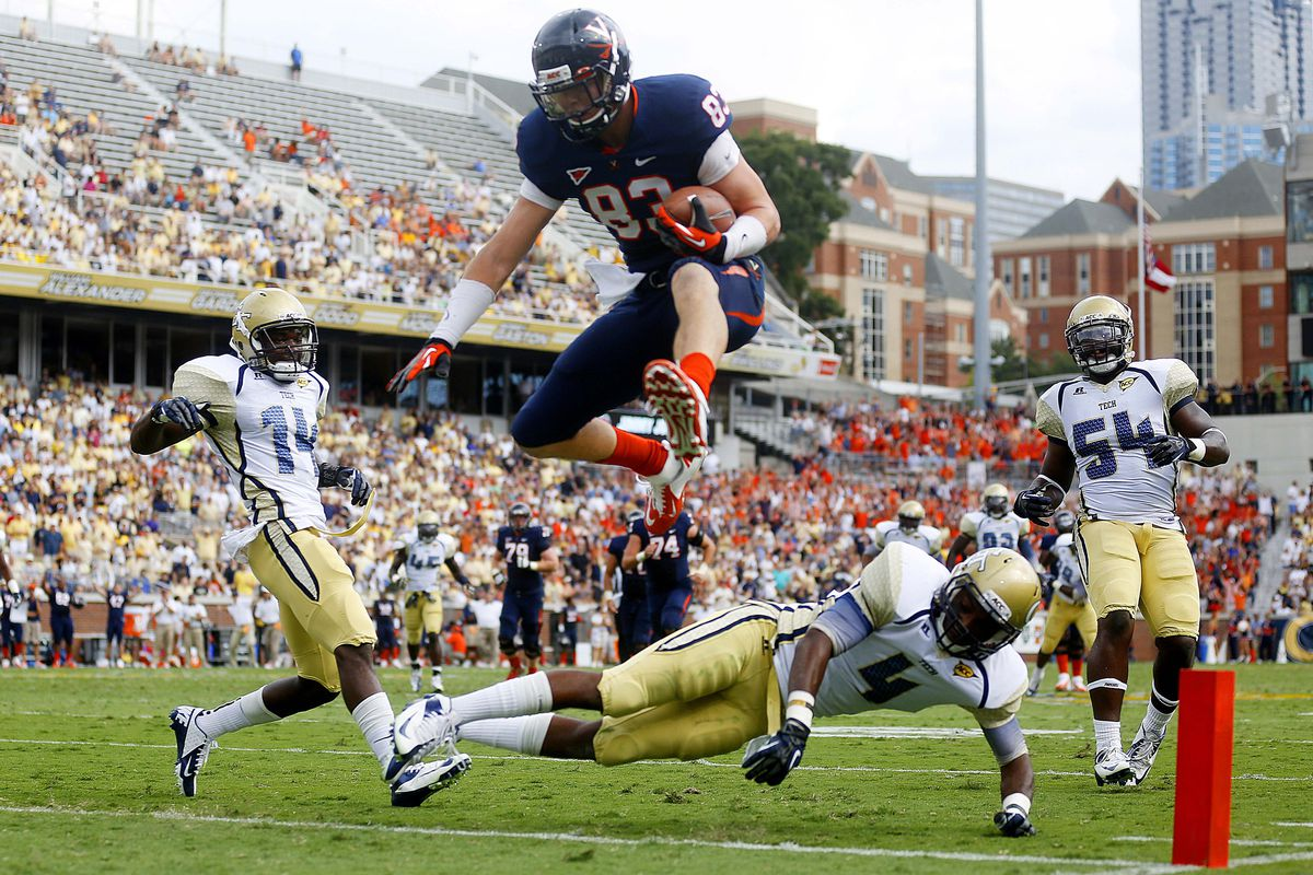 Sophomore UVA tight end Jake McGee has hurdled into the spotlight, assuming the playmaking role in Charlottesville.