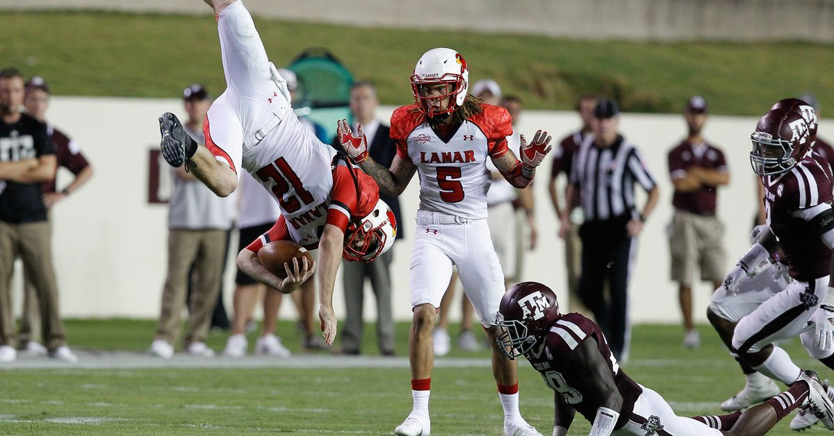 Texas A&M Aggies/Lamar Cardinals Gets Evening Kickoff At