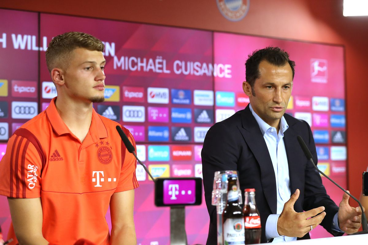 FC Bayern Muenchen Unveils New Signing Michael Cuisance