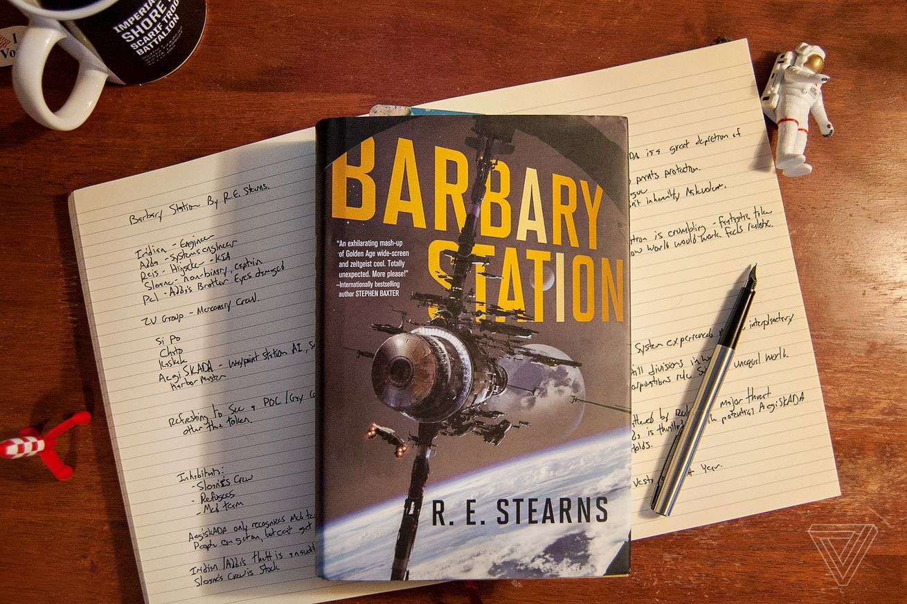barbary station is a thrilling sci fi adventure about space pirates and a homicidal ai