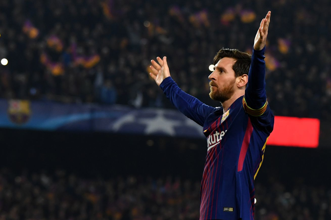 Messi magic takes Barca to another level