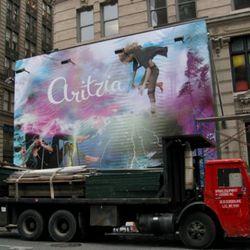 Dropping in at Broadway at Spring.