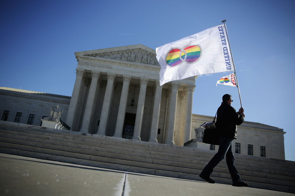 This Court Ruling Could Help Change The Scope Of Gay Rights In 2nd Circuit A Demonstrator Front Supreme Alex Wong Getty Images