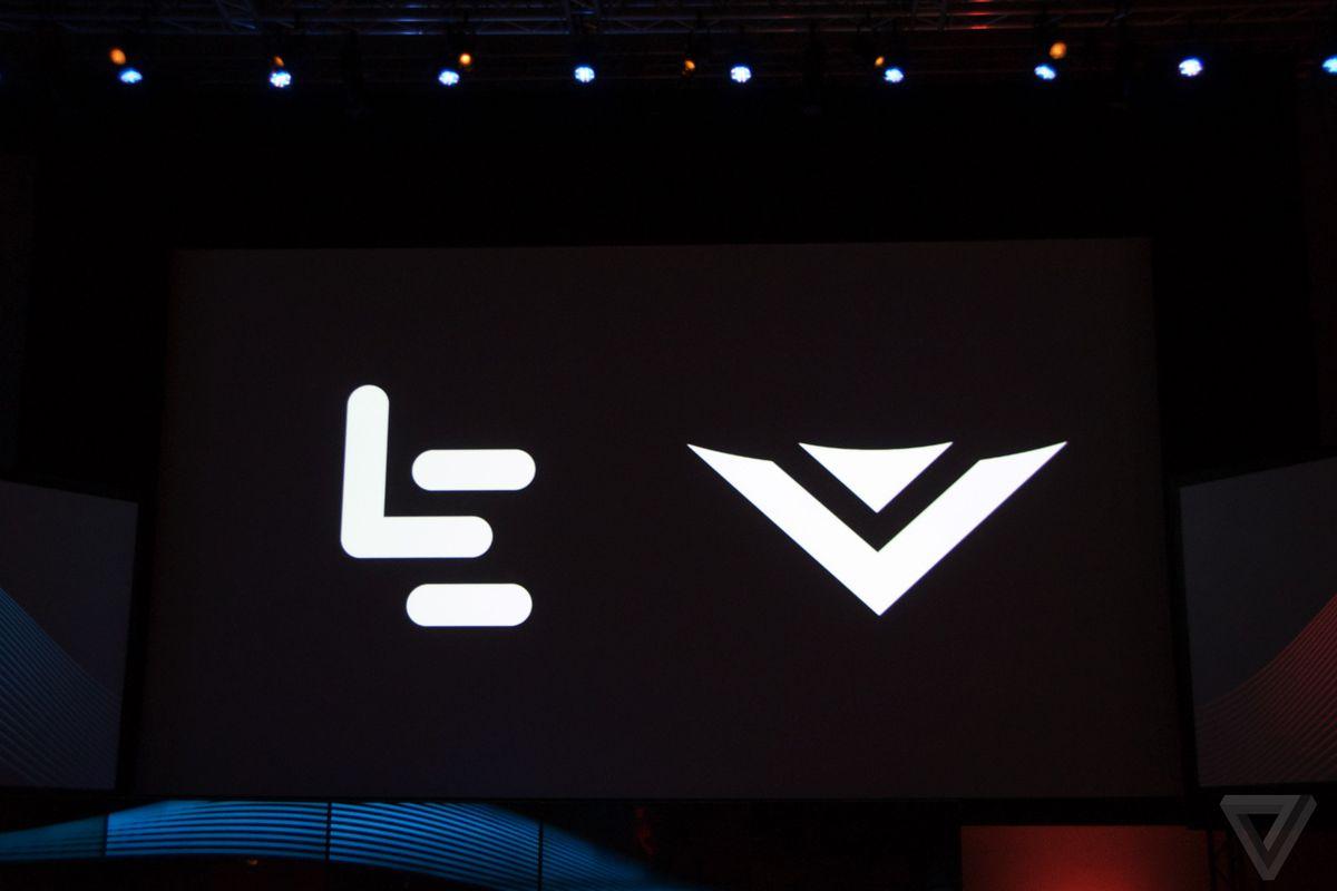 Vizio LeEco logos
