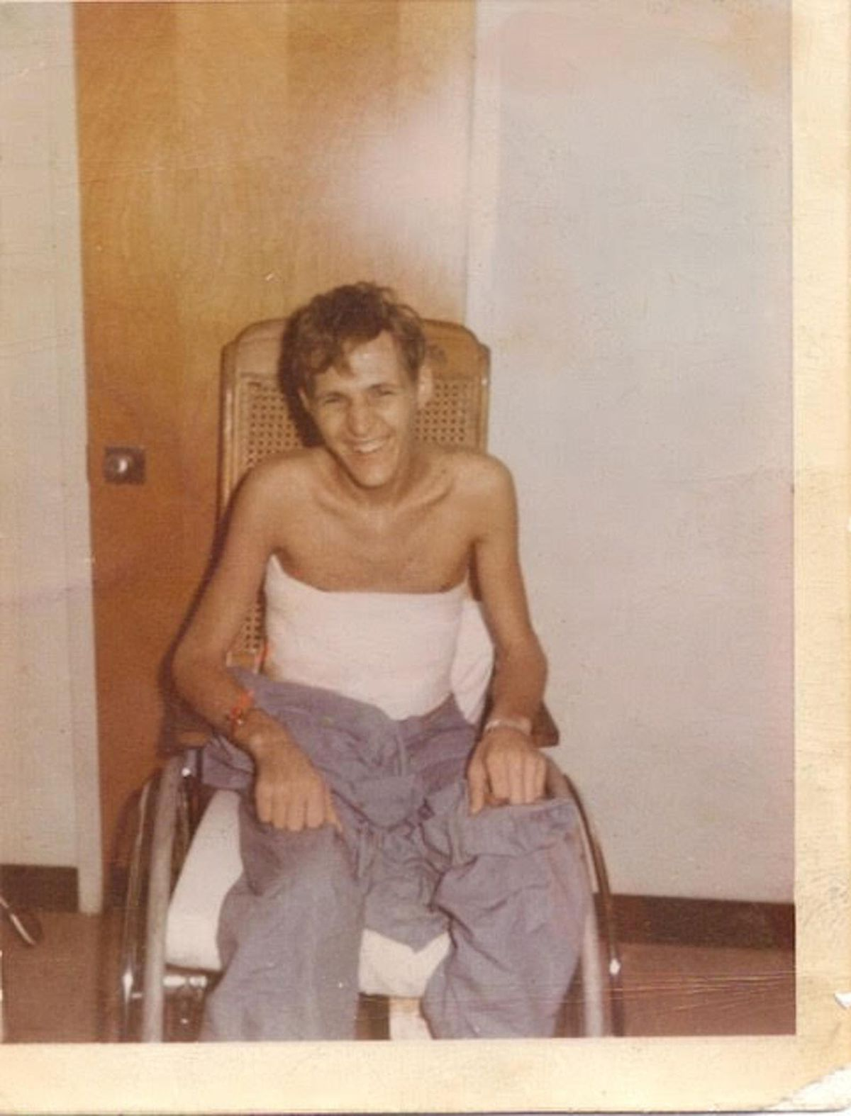 It took 20 months for Jim Zwit to recover from his combat injuries in Vietnam.