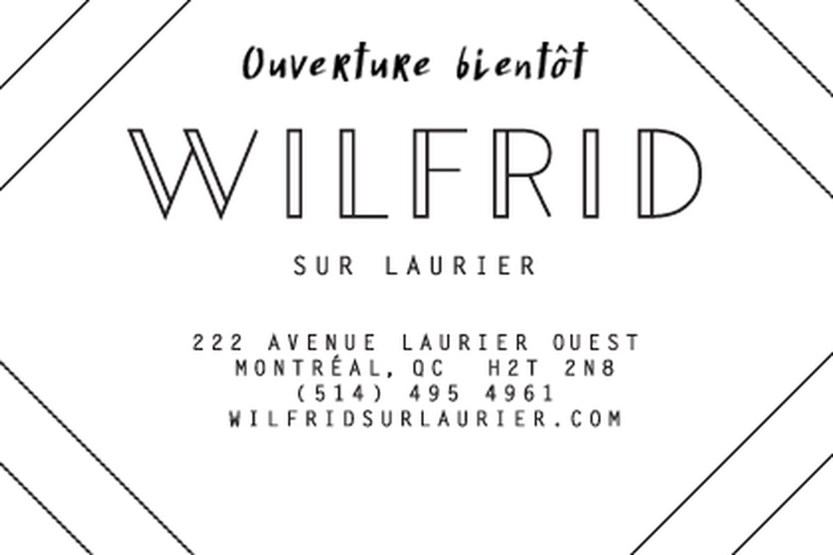 The first sign of life from Wilfrid sur Laurier